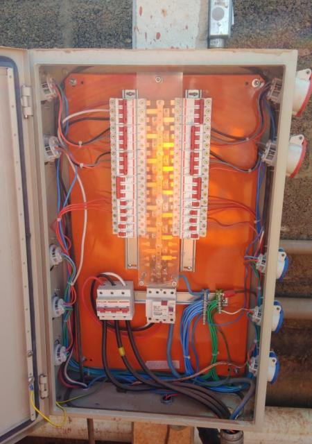 Relatório técnico das instalações elétricas