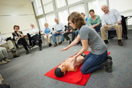 Valor de treinamento de primeiros socorros